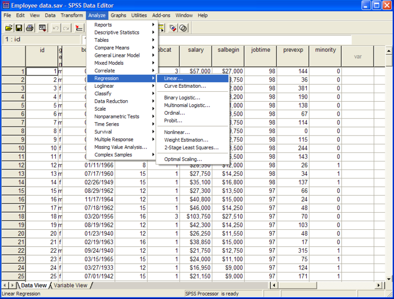 spss analysis for marketing strategies of startups enterperunier in tunisia has to be spss report an Spss (statistical package for the social scientists) is a data management and statistical analysis tool which has a very versatile data processing creating graphical presentations of questionnaire data for reporting, presentations or publications exploring relationships between responses to.